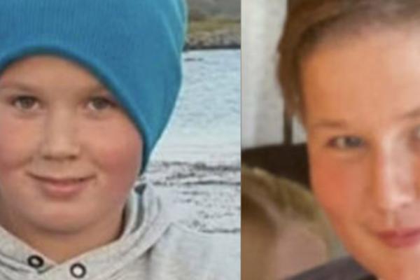 Gustav Rane Krogh Hovde (12) og Mogens Rane Krogh Hovde (15) gravlegges