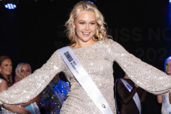 Sunniva H Frigstad (20) representere Norge i Miss Universe
