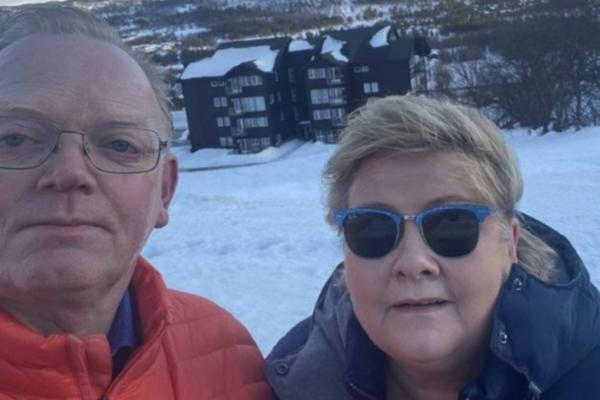 Erna Solberg har status som mistenkt etter brudd på smittevernforskriftene