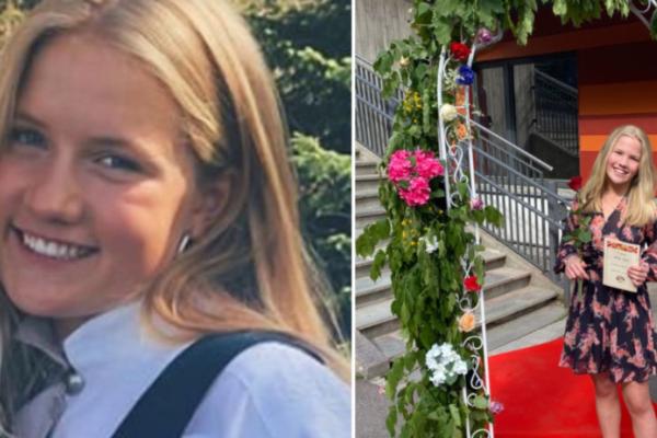 Benedicte (18) og Victoria Myrset (12) som døde av lynnedslag er bisatt