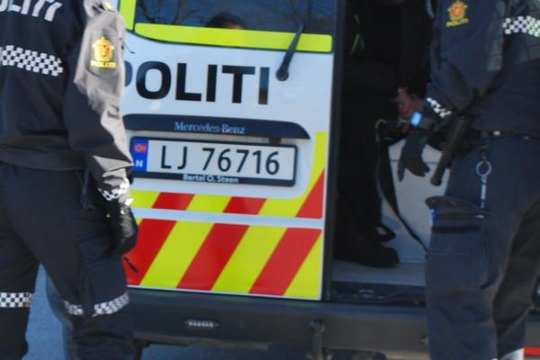 Aggressiv mann i 30-årene ble pågrepet utenfor Nav-kontor