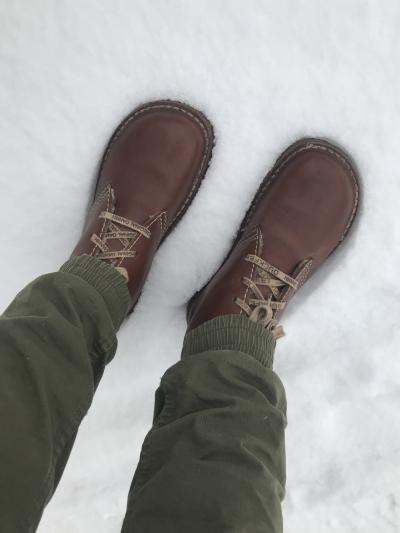garmanorama – Italienske Vannucci sko Duck Feet vintersko