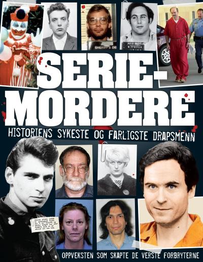 En brutal og sjokkerende bok om seriemordere!