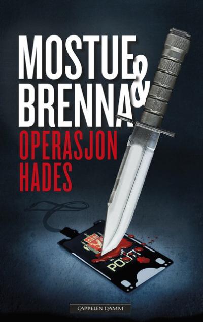 En brutal og skremmende realistisk kriminalroman!