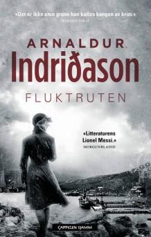 """Anmeldelse av Arnaldur Indridasons Bok """"Fluktruten"""""""