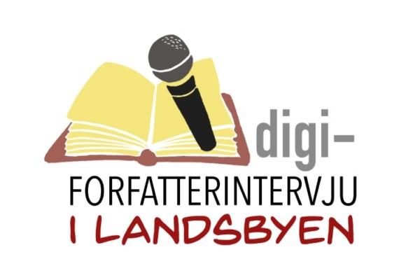 "Nytt konsept: ""Digi-forfatterintervju i landsbyen"" premiere 19. juni!!"