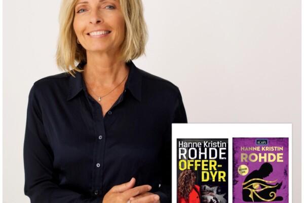 """""""Digi-forfatterintervju i landsbyen"""" fortsetter, nå med barne/ungdom/voksenbok forfatter Hanne Kristin Rohde"""