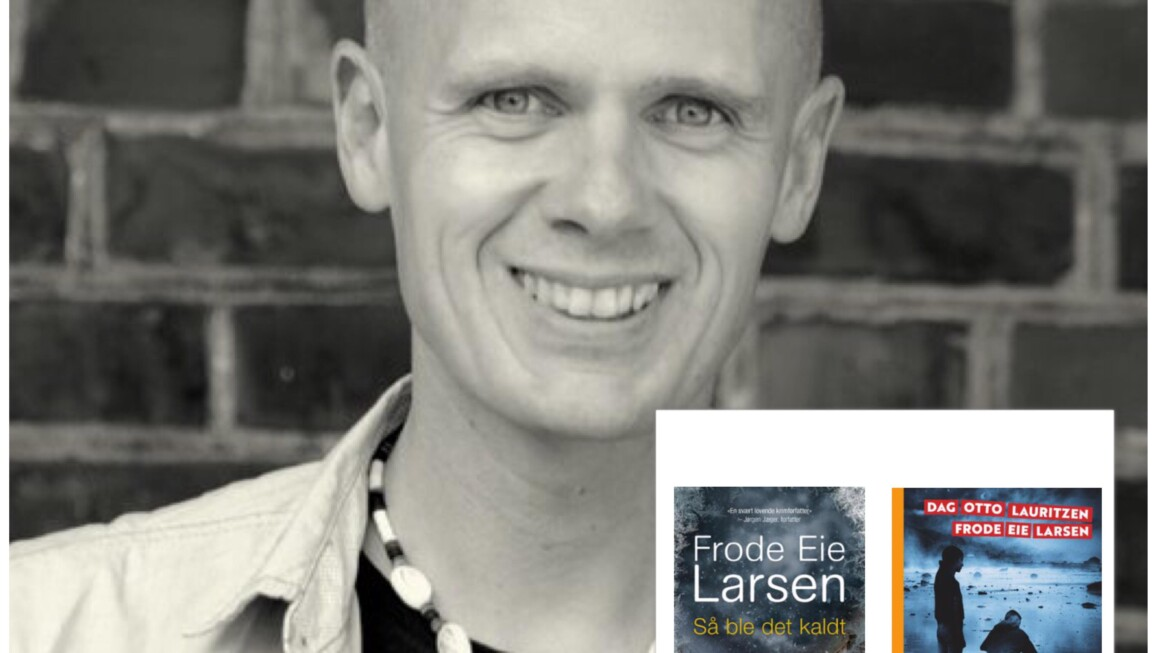 """Ny helg, nye episoder av """"Digi-forfatterintervju i landsbyen"""", nå barne- og krimbok forfatter Frode Eie Larsen"""