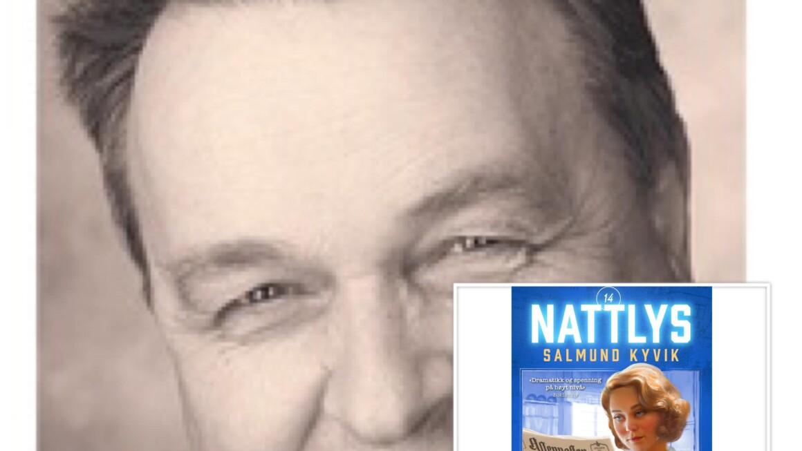 """Ny helg, nye episoder av """"Digi-forfatterintervju i landsbyen"""", nå serieromanforfatter Salmund Kyvik"""