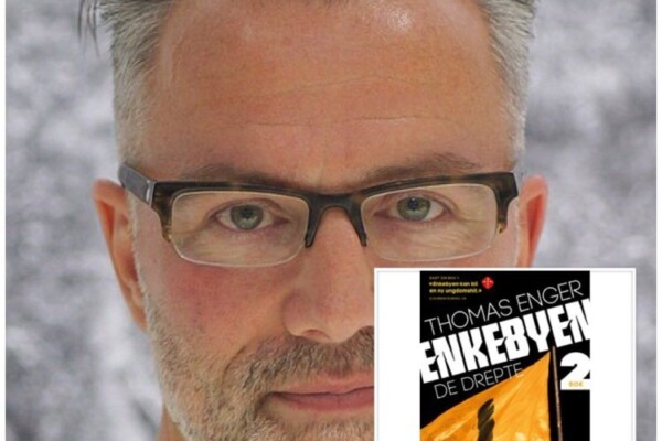"""Ny helg, nye episoder av """"Digi-forfatterintervju i landsbyen"""", helgen avslutter med ungdom- og krimbokforfatter Thomas Enger"""