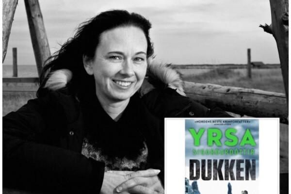 """Helg igjen, og tid for nye episoder av """"Digi-forfatterintervju i landsbyen"""", denne gang islandske Yrsa Sigurardottir"""