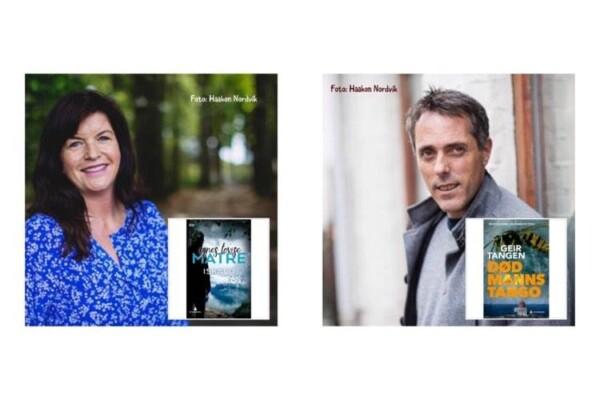"Helg = ""Digi-forfatterintervju i landsbyen"", her nye episoder, nå med krimekteparet fra Haugesund Agnes Matre og Geir Tangen"