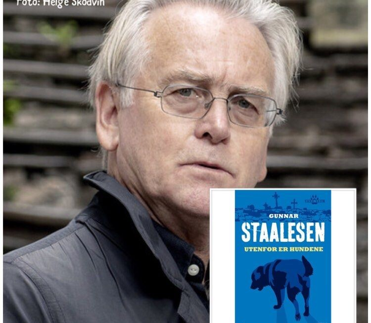 """August, ny helg, nye episoder av """"Digi-forfatterintervju i landsbyen"""", denne gang Varg Veums far Gunnar Staalesen"""