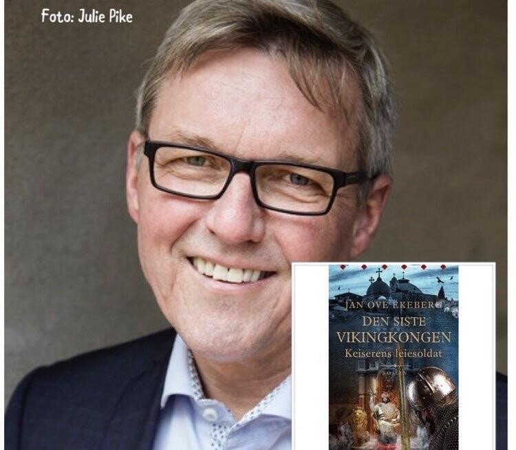 """August, sommeren nærmer seg slutt, nye episoder av """"Digi-forfatterintervju i landsbyen"""", nå med historisk roman forfatter Jan Ove Ekeberg"""