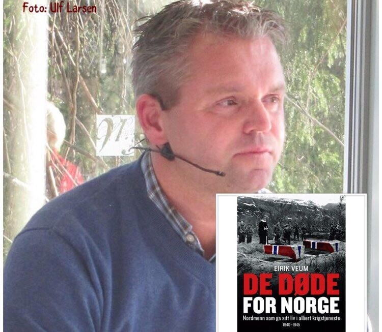"Ny helg, nye forfattere, nye episoder av ""Digi-forfatterintervju i landsbyen"", nå med Eirik Veum"