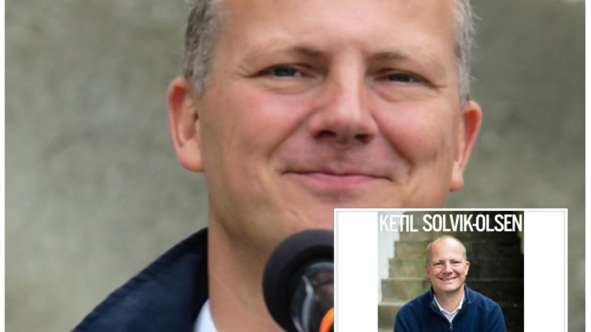 """Ny augusthelg, betyr nye episoder av """"Digi-forfatterintervju i landsbyen"""", denne gang politiker Ketil Solvik Olsen"""