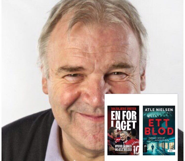 """Sesongavslutning av """"Digi-forfatterintervju i landsbyen"""", andre ut denne siste helgen er Atle Nielsen"""