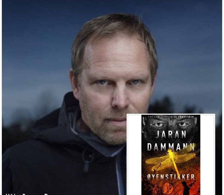 """Sesongavslutning av """"Digi-forfatterintervju i landsbyen"""", fjerde ut denne siste helgen er Jaran Dammann"""