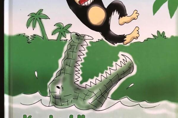 Krokodillehumor og Apemorro med glimt i øyet, og med et hint av moral