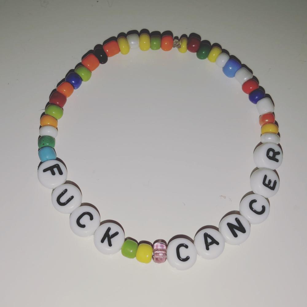 Kreftforeningen armbånd
