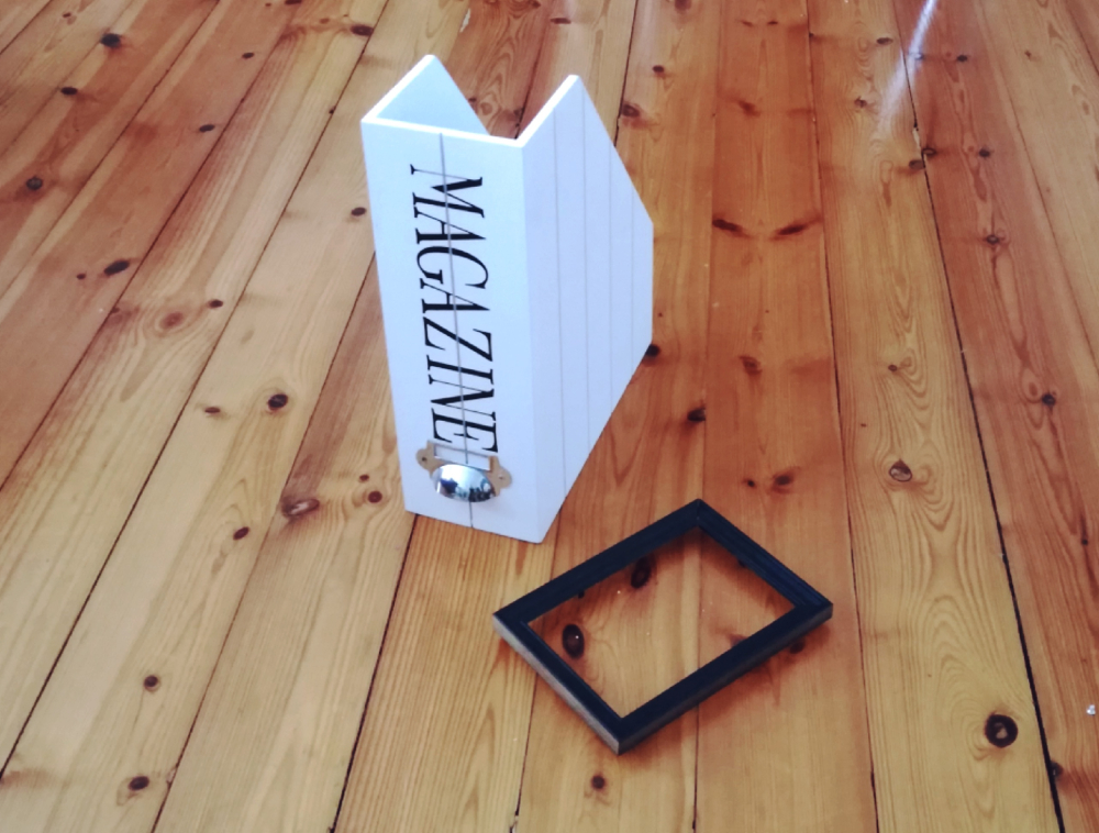 DIY – Forny bokhylla med enkle detaljer