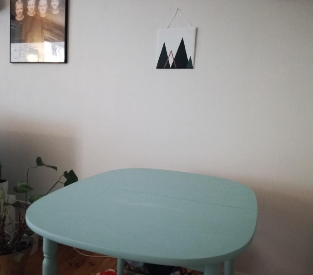 DIY – Fargerikt kjøkkenbord