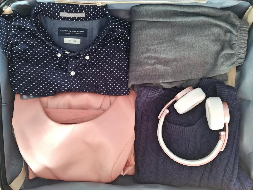Kofferten pakket