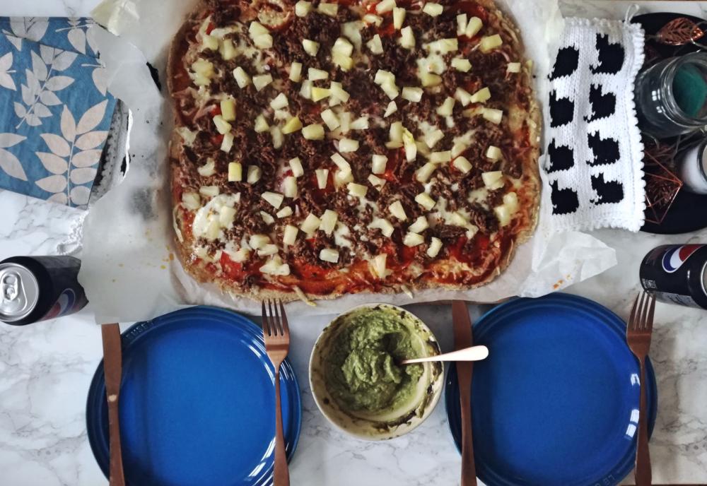 Oppskrift: Grov pizza