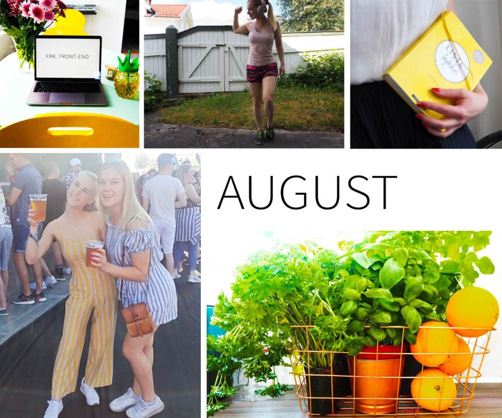 10 ting jeg vil gjøre i august