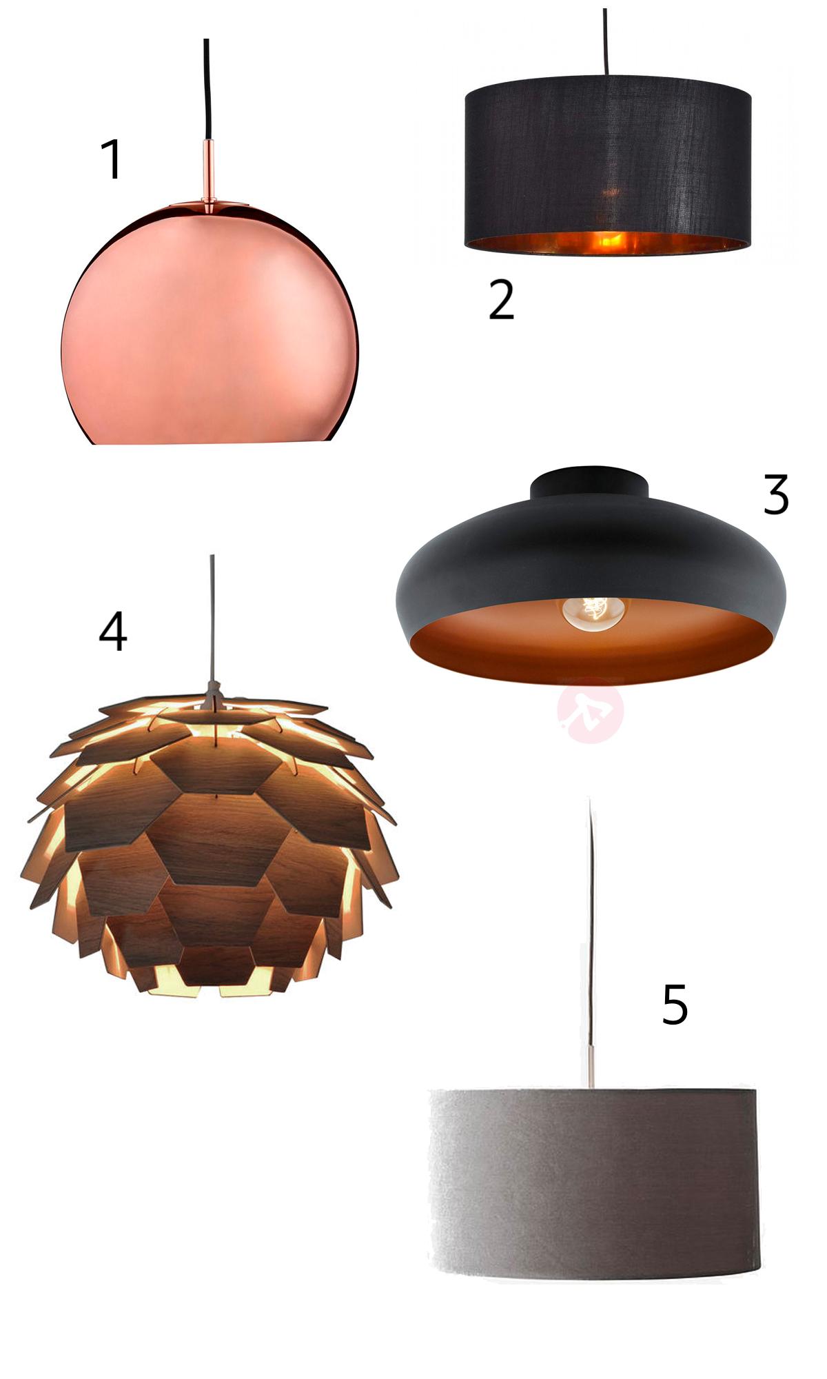 10 kule lamper