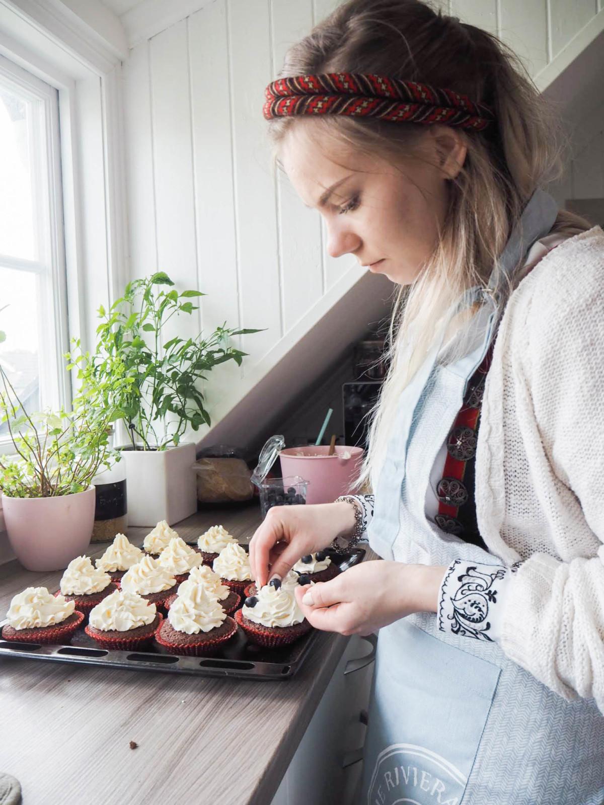 Pynte cupcakes
