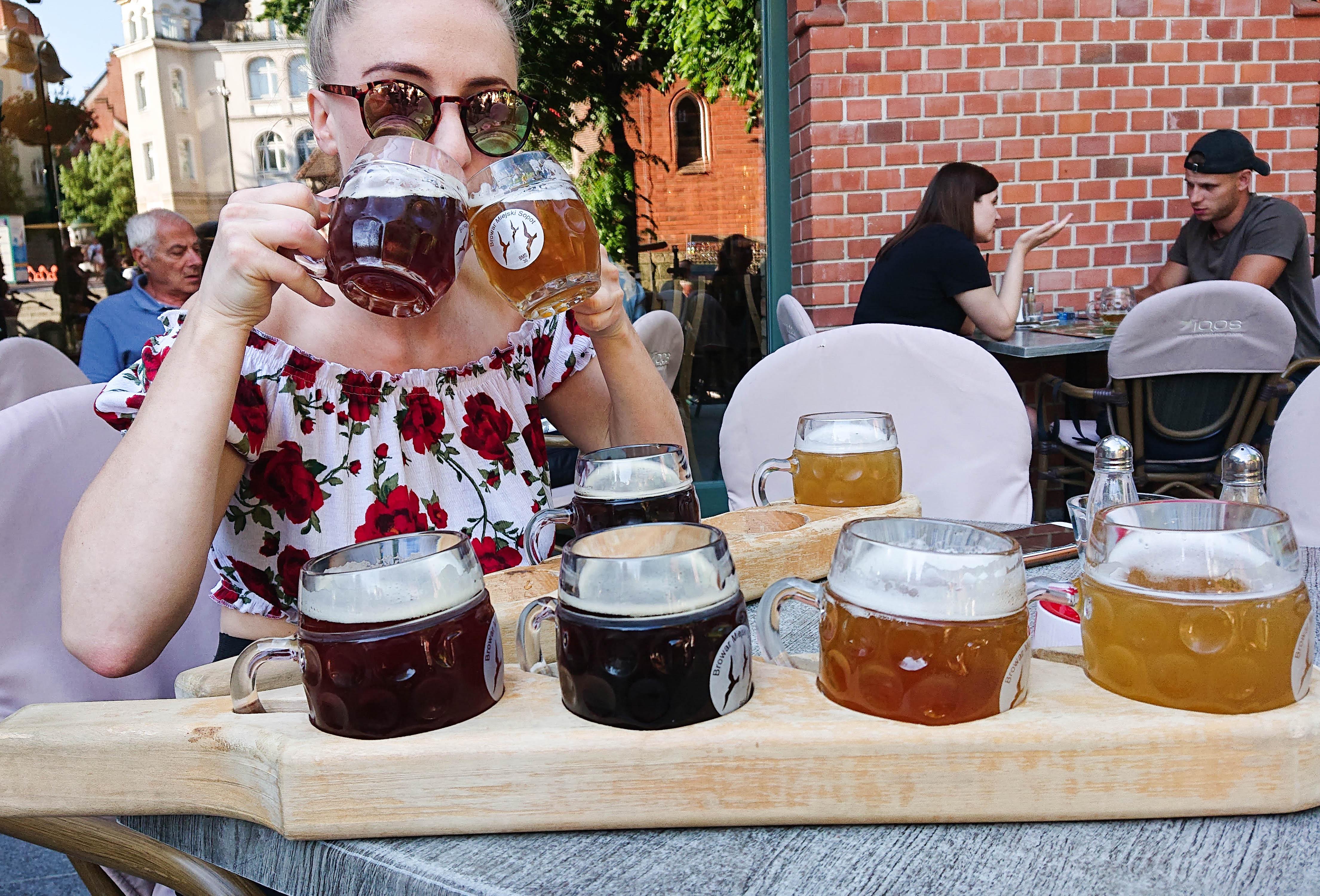 Ølsmaking i Sopot