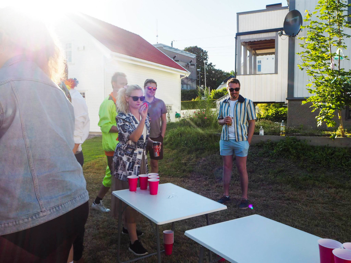 Grilldressfest, sommerfest