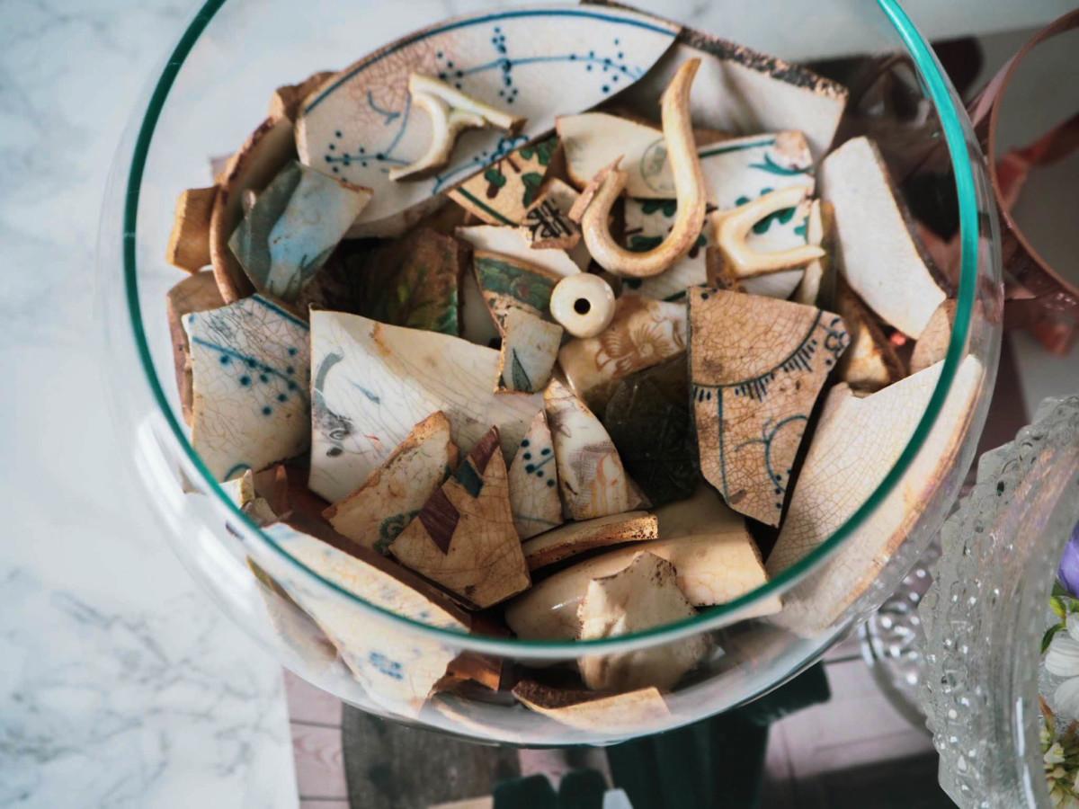 Keramikk fra Portør