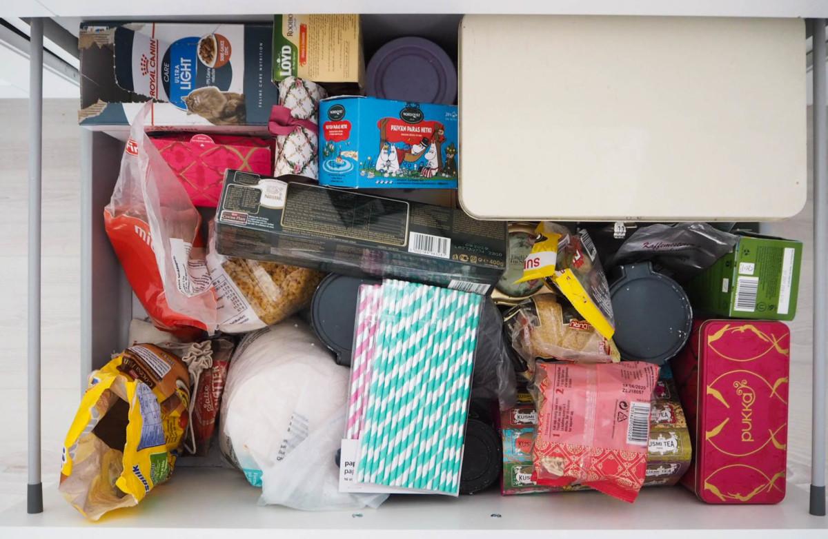 Bilde av kjøkkenskuffer