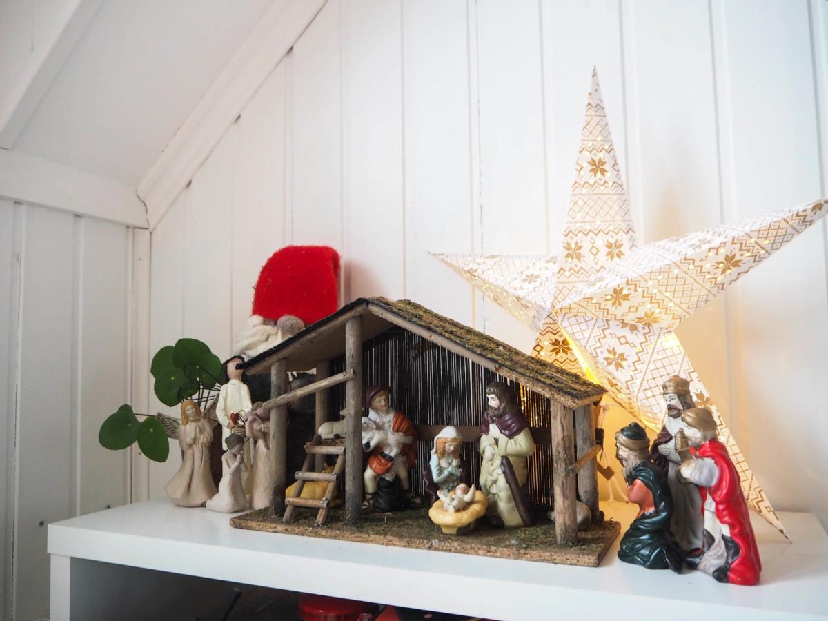 Julepyntet hjem