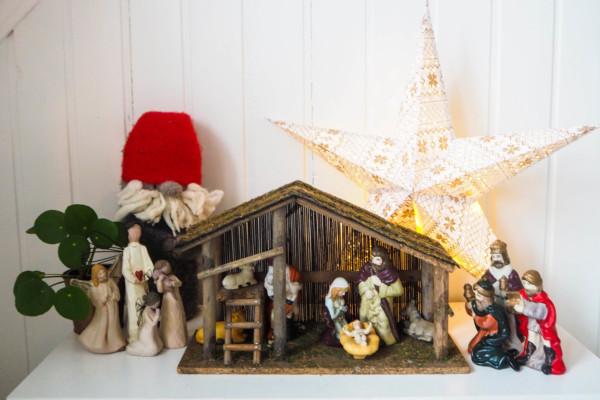 Den fineste julekrybben