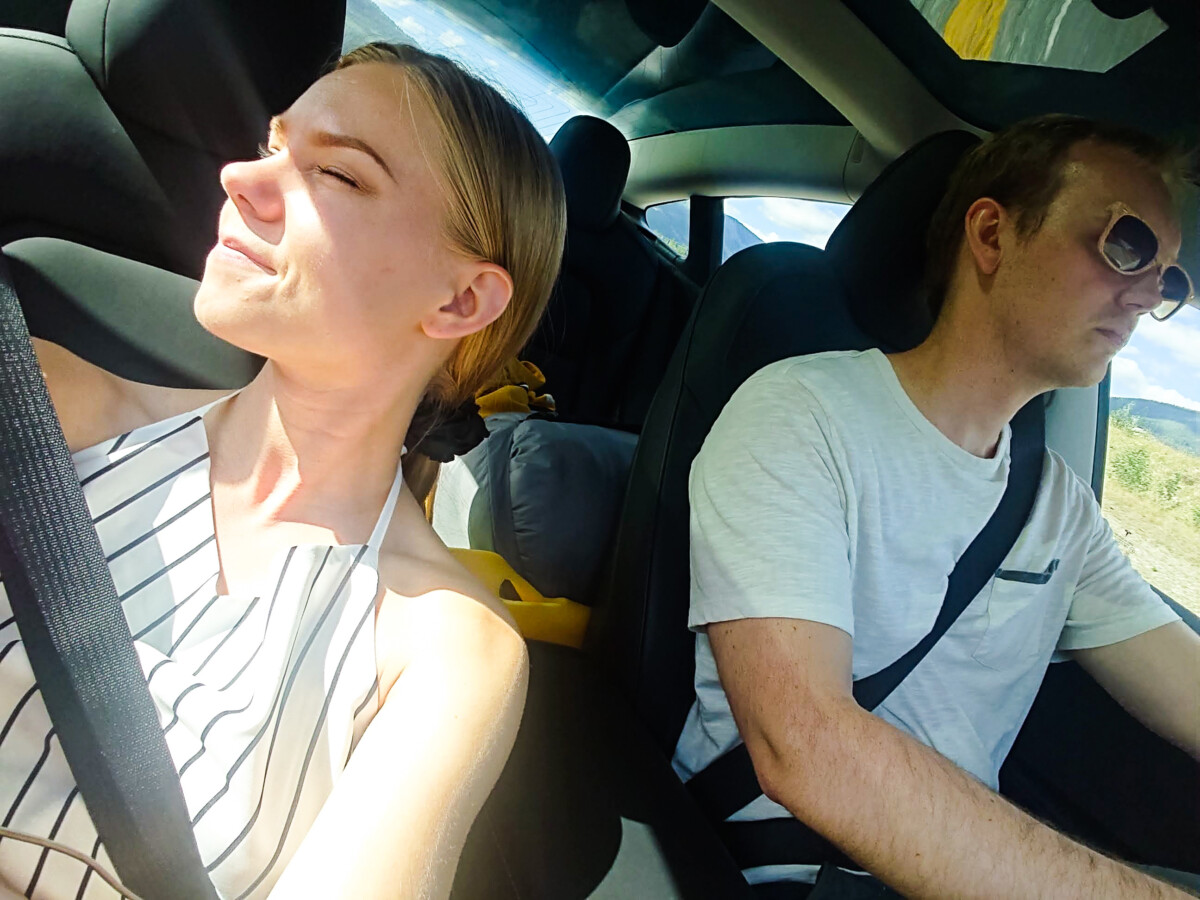 Varm dag i bilen
