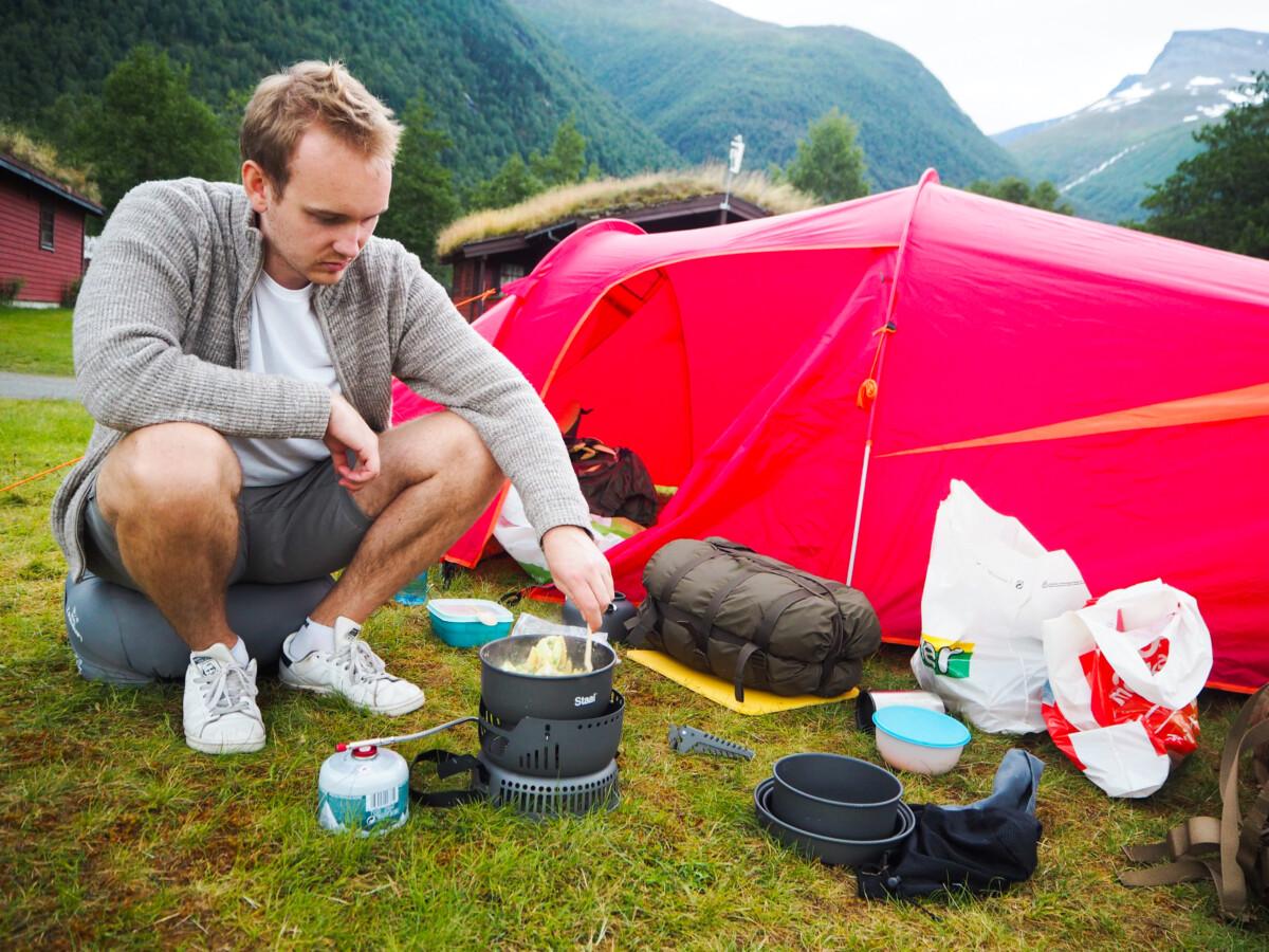 Camping i Loen
