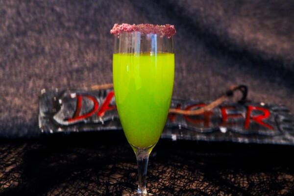 Halloweendrink: Witches brew