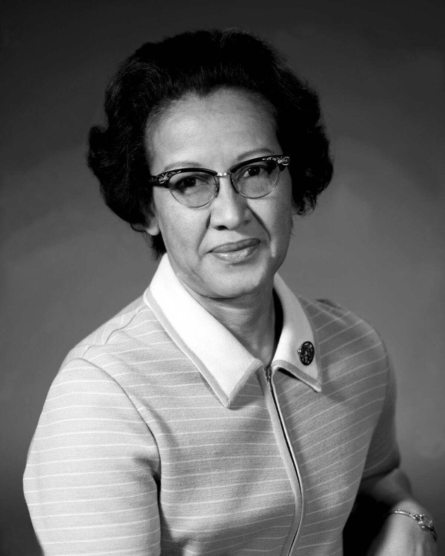 Kathrine Johnson - Bildet tatt av Nasa (public domain)