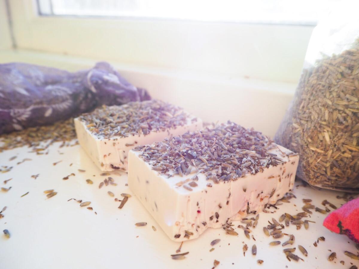 Lavendelsåpe