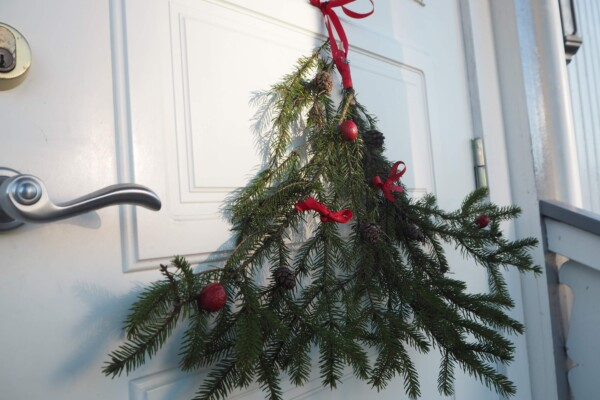DIY – Julebusk på døra