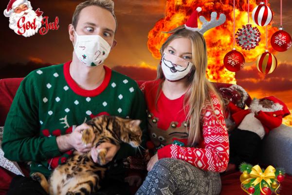 Julekort sendt ut