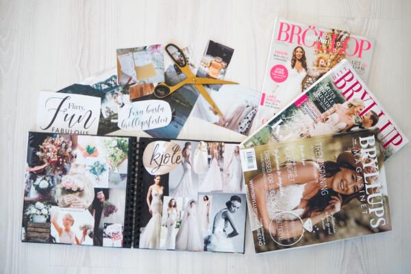 Bryllupsscrapbook