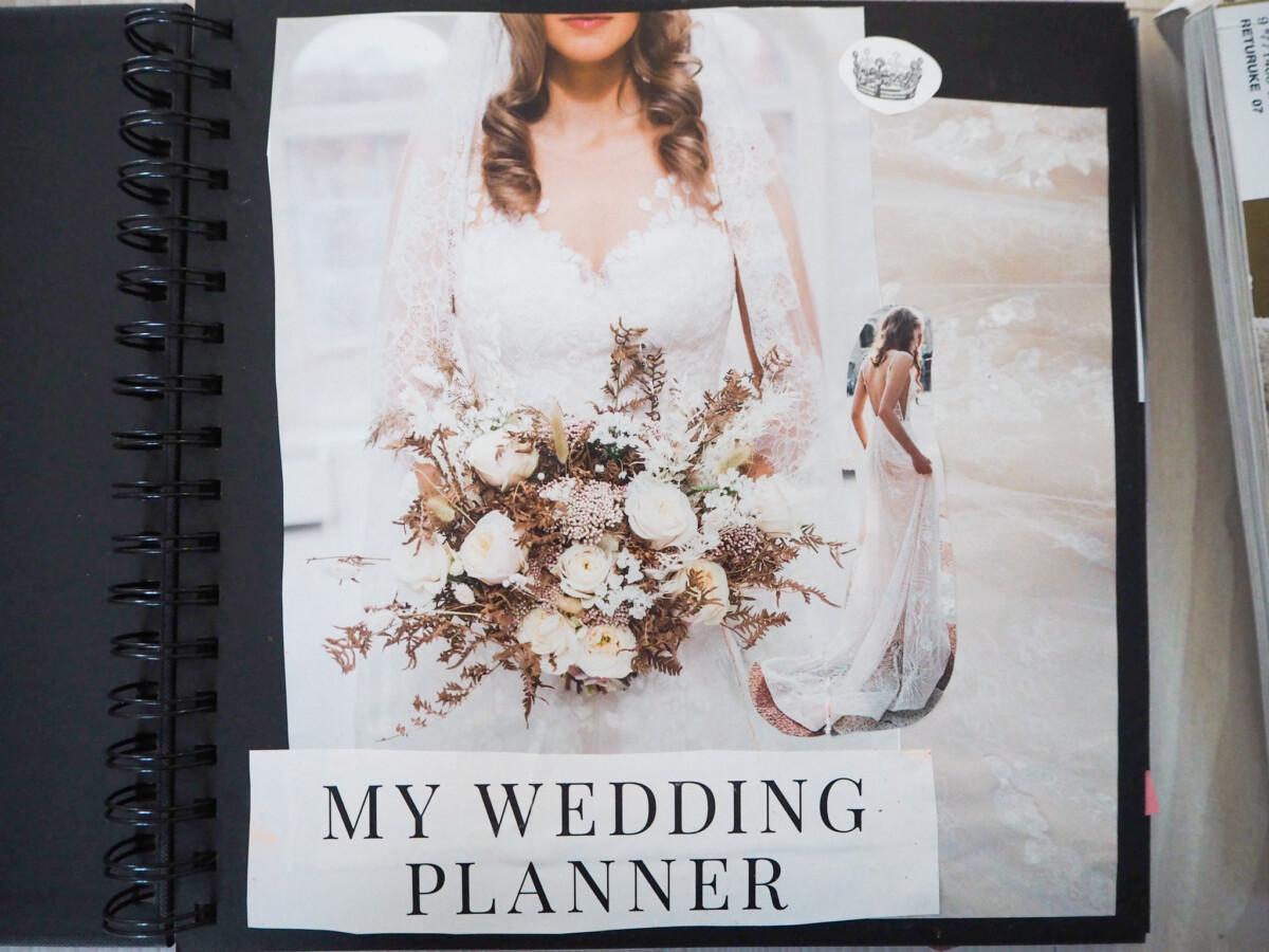 Bryllup scrapbook