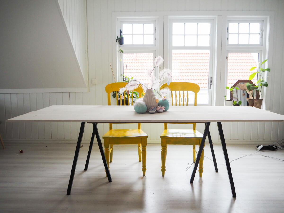 DIY - Ferdig spisebord