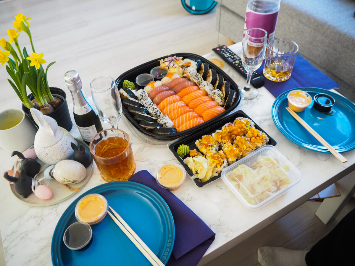 Ringenes herre og sushi - bursdagsfeiring