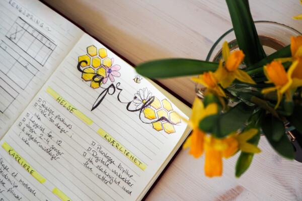 Bullet journal: April