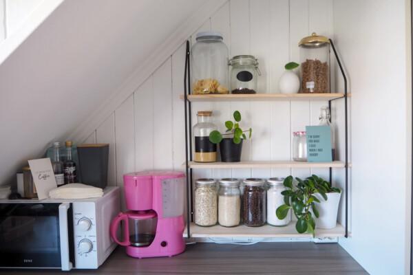 New in: Kjøkkenhylle